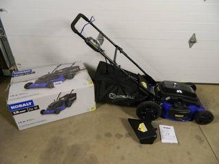 New Kobalt 21 inch Electric Lawn Mower
