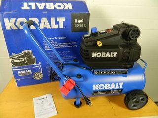New Kobalt 8 Gallon Air Compressor
