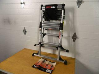 New Telesteps Telescoping Aluminum Step Ladder