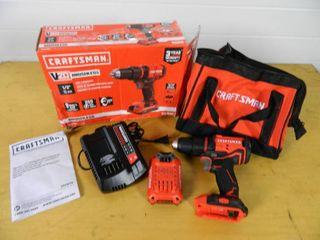 New Craftsman V20 Brushless 1/2 inch Drill/Driver Kit