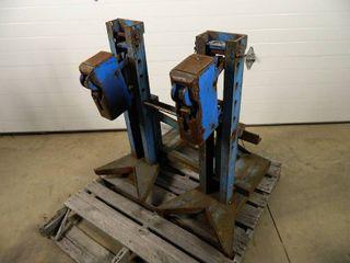 Dual Barrel / Drum Lifting Forklift Attachment