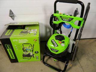 New Greenworks Pro 2300 psi Brushless Pressure Washer