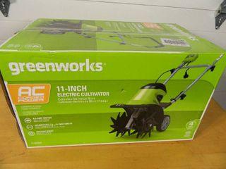 New Greenworks Electric Tiller / Cultivator