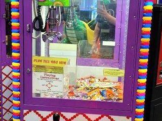 Candy Crane Arcade Claw Machine. We have 2 of...