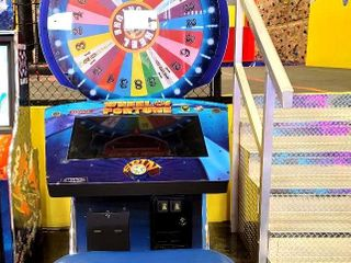 Raw Thrills? newest arcade superstar Wheel of...