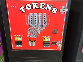 Tokens Machine. Cash in, Tokens out. Out of S...