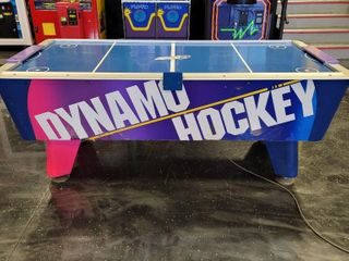 Dynamo Air Hockey arcade game, Coin Oper...