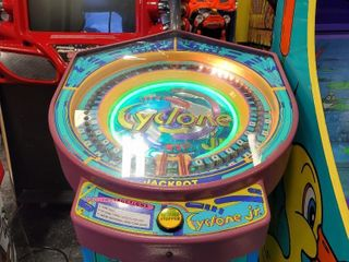 Cyclone Jr Arcade Game - Cyclone Jr is a hand...