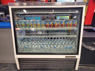 "True 48"" Refrigerated Deli Case. 2 rear doors..."