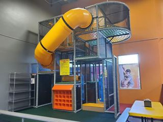 Softplay Center with Tube slide and shoe...