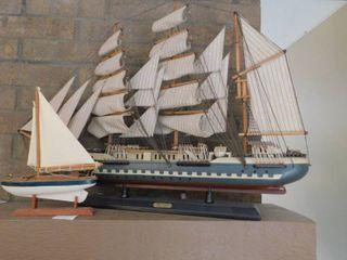 Model Ships  2 ea