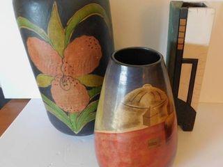 Vases  3 ea