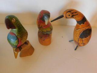 Birds  3 ea
