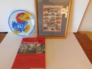 KU  KU Medical Center   Jayhawks Memorabilia