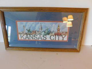 Framed Kansas City Print