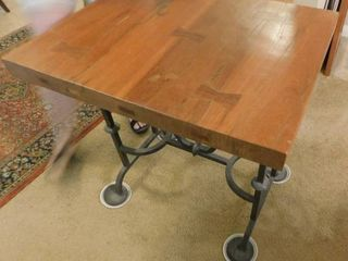 Teakwood Table