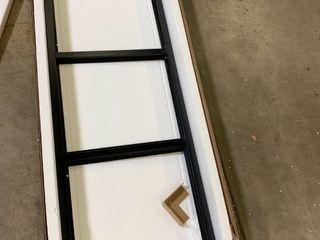 HouseinBox Office File Storage Console Cupboard Metal Cabinet 3 Door Cupboard locker Organizer Stand 3 in 1  2 Tier 6 Shelves legs Detachable