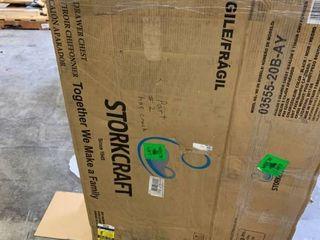 Dresser  Dresser StorkCraft CRACKED PIECE HAS BEEN GlUED