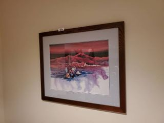 Framed Native American Print