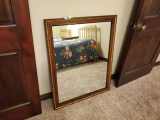 Kindel furniture wood framed wall mirror