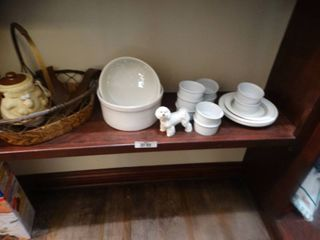 lot of assorted bowls and bakeware