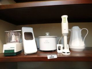 Various small appliances