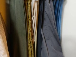 lot of various slacks  jeans