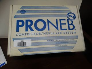 PRONEB nebulizer system  Appears to be unused