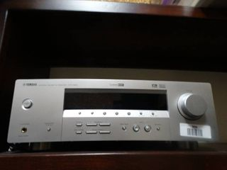 Yamaha Natural sound AV receiver  HTR 5830    speakers
