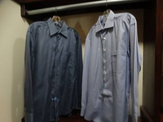 2 designer button down shirts