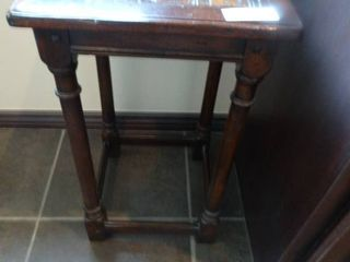 Awesome square wood occasional table