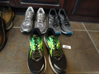 3 pairs tennis shoes  size 12