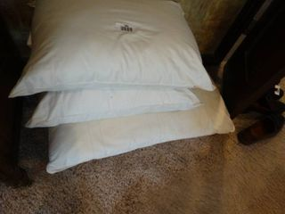 3 bed pillows