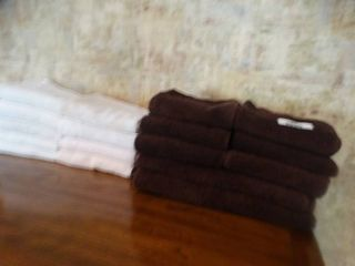 lot of hand towels