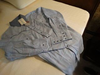 Kenny Rogers Button down western shirt  New with tags