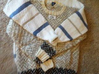 2 designer sweaters