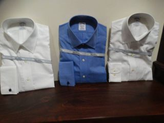 3 New designer Men s button up dress shirts