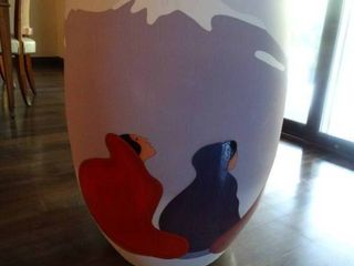AWESOME  Huge Vase  ORIGINAl R C  Gorman  Signed   numbered limited edition vase  11 50    Taos Mountain