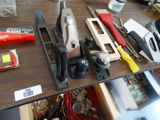 lot of various hand tools