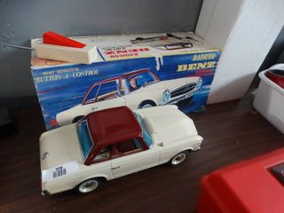 Radicon benz vintage radio control Mercedes Benz in box