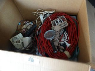 Assorted extension cords   misc