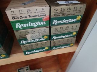 6 boxes of 12 gauge shotgun shells