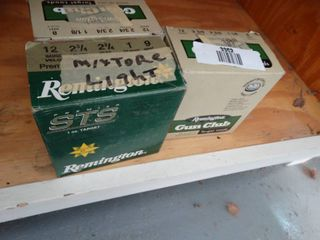 3 boxes of 12 gauge shotgun shells