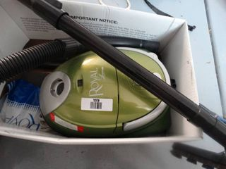 Royal canister vacuum cleaner
