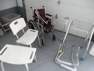large lot of assorted medical  handicap items