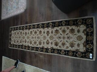 large runner rug  95  long x 27 5  wide