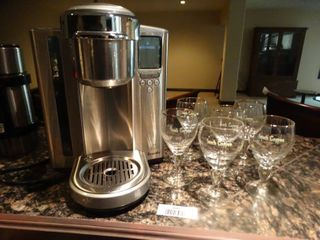 Breville Kurig coffee maker   6 Irish coffee stems