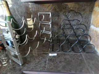 2 wine racks
