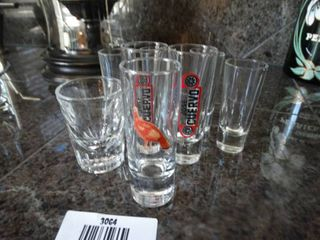Wild Turkey  Jose Cuervo   other shot glasses