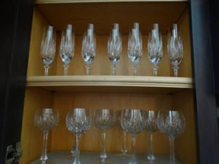 Gorham Crystal 15 stems  Very fine crystal stemware